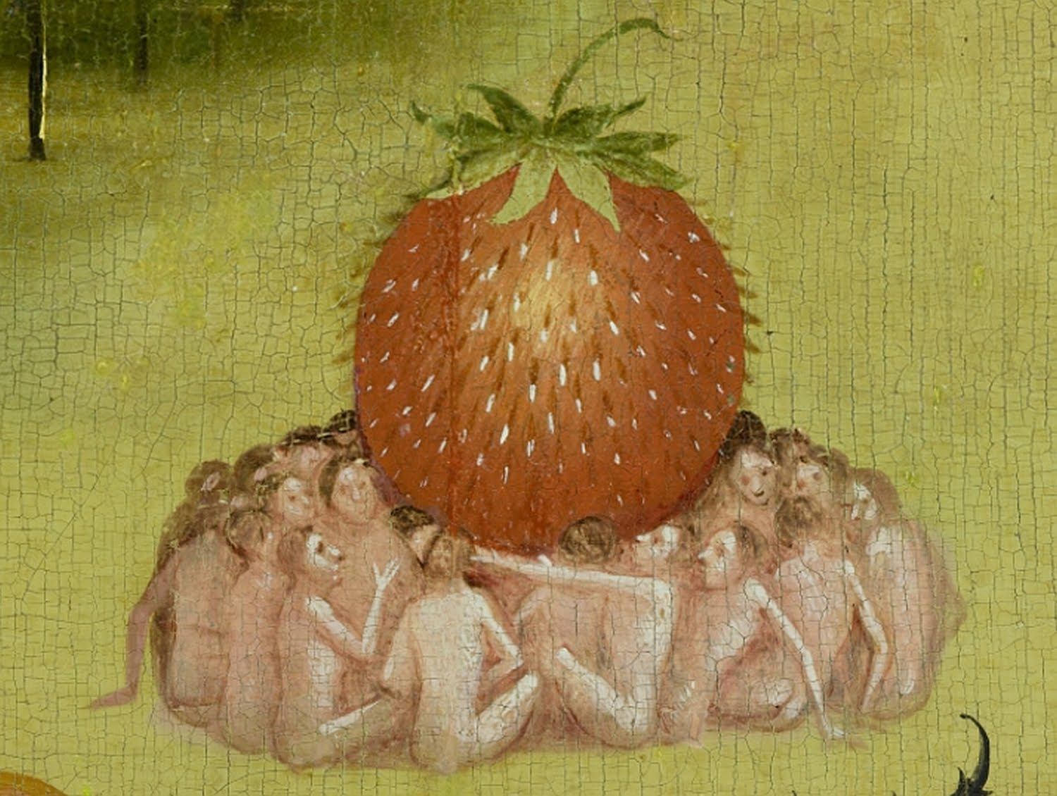 bosch hieronymus detail strawberry2